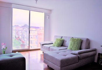 Apartamento en Britalia, Usaquen - Dos alcobas