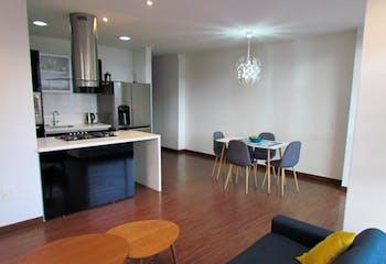 Apartamento en venta en Chicó Navarra de 3 hab. con Bbq...