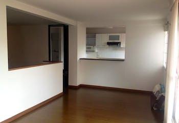 Apartamento en 87,74m2 en Lisboa, Bogotá - con tres habitaciones