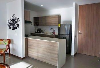 Apartaestudio en Colina Campestre, Envigado - 65mt, una alcoba, dos baños