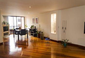 Terrazas del Rosal, Apartamento en Chapinero de 2 hab, 132 mts