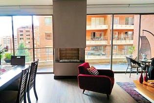Apartamento en Santa Barbara Oriental, Santa Barbara - 228mt, tres alcobas, chimenea