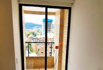 Apartamento en Caobos Salazar, Cedritos - 71mt, dos alcobas, balcón