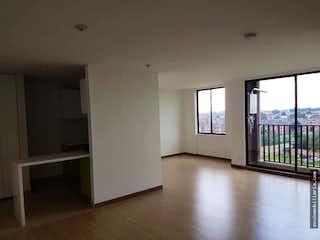 Una vista de una sala de estar con una puerta abierta en PARTAMENTO  EN HAYUELOS - 2 HABITACIONES