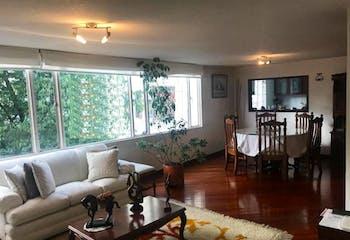Apartamento en venta en Chicó Navarra, 137m²