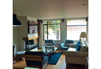 Apartamento en El Refugio, Chico - 114mt, tres alcobas, chimenea