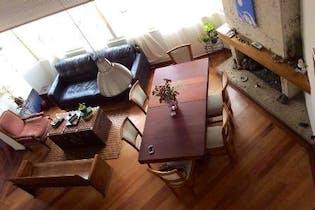 Apartamento en Santa Barbara Central, Santa Barbara - 115mt, tres alcobas, chimenea