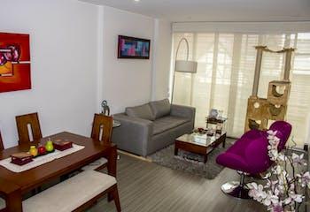 Apartamento En Venta En Bogota Santa Barbara Central, Dos Alcobas, 96 mts