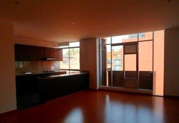 Apartamento en Santa Bárbara, Bogotá - con tres habitaciones, de 90m2