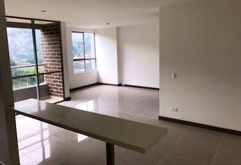 Apartamento en El Chingui, Envigado - 70mt, dos alcobas, balcón