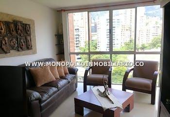Apartamento en Santa María de los Ángeles, El Poblado con 3 habitaciones, piso 9 - 98 mt2.