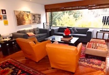Apartamento Penthouse - duplex en Santa Barbara Central, con 4 habitaciones y chimenea - 310 mt2.