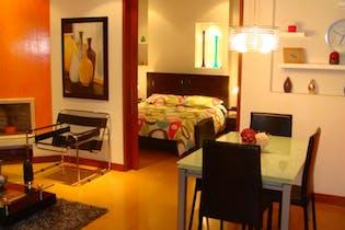 Apartamento de 73m2 en Chicó, Bogotá - con dos alcobas