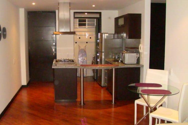 Portada Apartamento de 58m2 en Chicó, Bogotá - con dos alcobas
