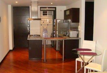 Apartamento de 58m2 en Chicó, Bogotá - con dos alcobas