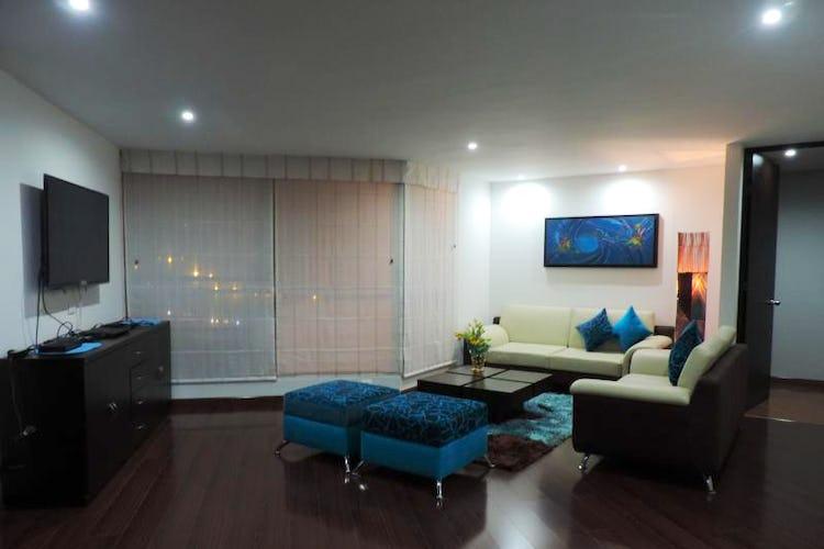 Portada Apartamento de 101m2 en Chicó, Bogotá - con tres alcobas