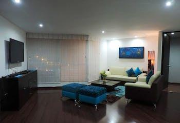 Apartamento de 101m2 en Chicó, Bogotá - con tres alcobas
