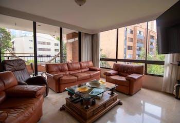 Apartamento de 250m2 en El Poblado, sector Milla de Oro - con cuatro alcobas