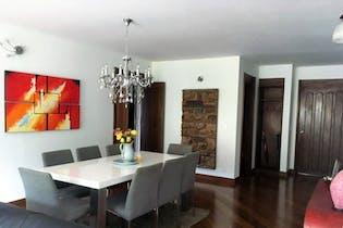 Apartamento de 115m2 en Lindaraja, Bogotá - con dos habitaciones