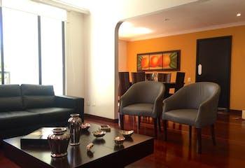Apartamento de 178m2 en Santa Bárbara Central, Bogotá - con tres alcobas