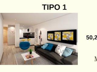 Miyazu 122, apartamentos sobre planos en Batán, Bogotá
