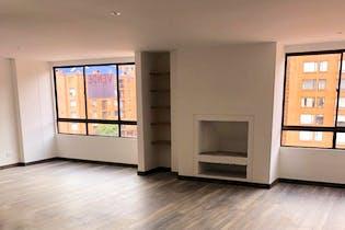 Apartamento en Cedritos, Cedritos - 120mt, tres alcobas, chimenea