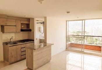 Apartamento en Santa Ana, Bello - 66mt, tres alcobas, balcón