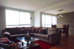 Apartamento de 112m2 en La Felicidad, Bogotá - con tres habitaciones