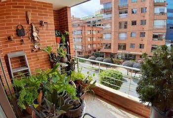 Apartamento de 129m2 en Santa Barbara Occidental, Bogotá - con tres alcobas