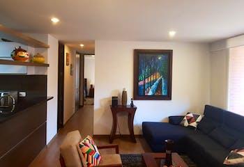Apartamento En Venta En Bogota Mazurén, Con 3 Habitaciones-96mt2