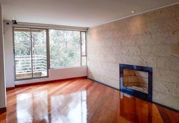 Apartamento en Bosque Medina, Usaquén - 240mt, tres alcobas, chimenea