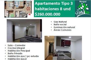 Apartamento en Bellavista Occidental, Engativa - 59mt, tres alcobas