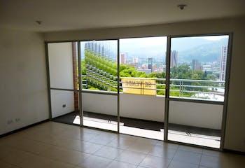 Apartamento en El Carmelo - Sabaneta, con dos habitaciones
