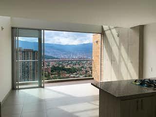 Un cuarto de baño con lavabo y ducha en Apartamento de 85m2 en Calasanz, La América - con dos habitaciones