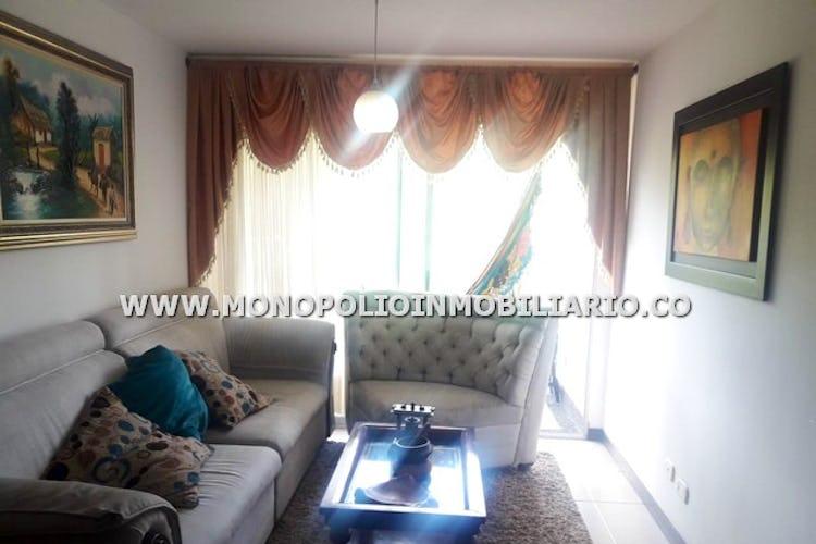 Portada Apartamento de 78m2 en San José, Sabaneta - con tres habitaciones