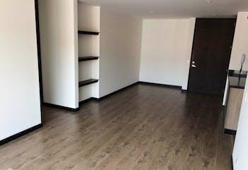 Apartamento de 109m3 en Caobos Salazar, Bogotá - para estrenar