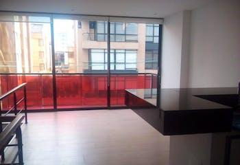 Apartamento en venta en Chicó Reservado de 55m² con Bbq...