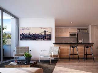 Una sala de estar llena de muebles y una mesa en Hatoverde