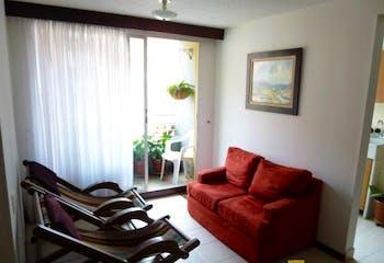 Apartamento de 58m2 en Los Colores, Medellín - con dos habitaciones
