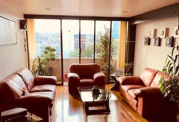 Departamento en venta, Del Valle Centro con balcón