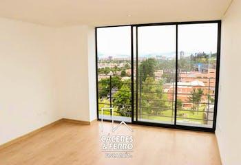 Apartamentoen Barrio Niza, con 3 habitaciones y parqueadero - 106.86 mt2.
