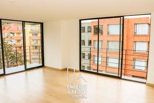 Apartamento de 116m2 en Sotileza, Bogotá - con tres habitaciones
