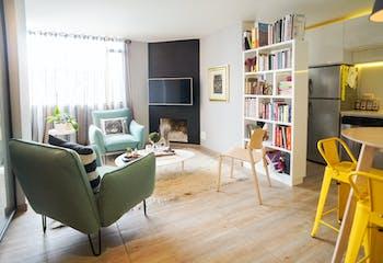 Apartamento en venta en Santa Paula de 1 hab.