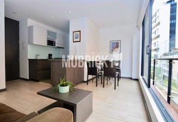 Apartamento en venta en El Nogal 47m² con Bbq...