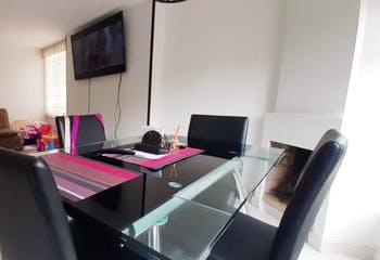 Apartamento de 80m2 en el Contador, Bogotá - con tres habitaciones