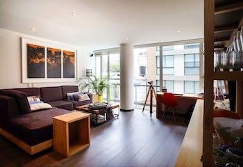 Apartamento en el Virrey de 70 mts, segundo piso.