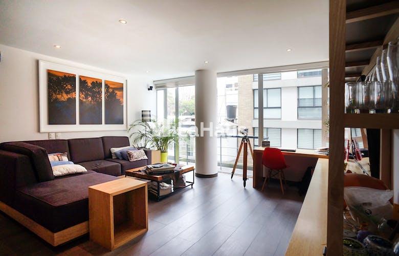 Portada Apartamento en el Virrey de 70 mts, segundo piso.