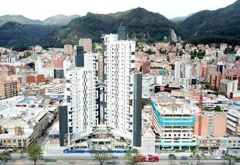 Apartamento en venta en Barrio Chapinero, 44m² con Gimnasio...
