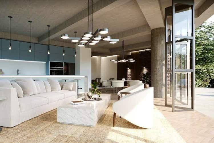 Portada Apartamento en El Campestre, El Poblado con terraza y 2 habitaciones - 264 mt2.