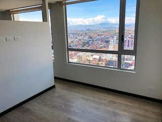 La vista de la vista desde la ventana del tren en Apartamento en Chapinero - Bogota, cuenta con una habitación